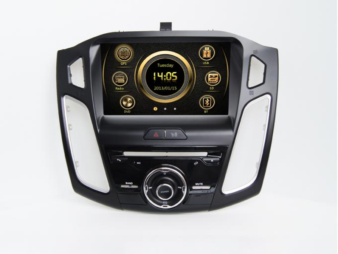 In car touch screen dvd multimedia player dvd bluetooth wince for ford focus 2015
