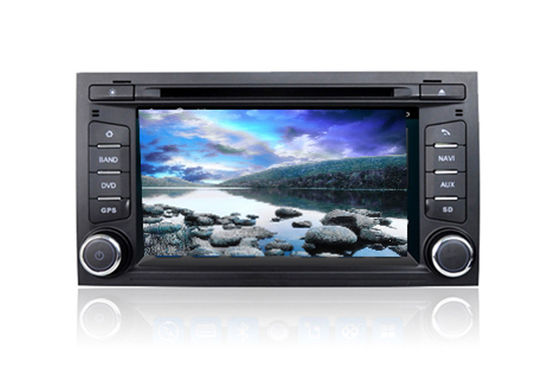 Cina 2 Din Car DVD Volkswagen GPS Navigation System Quad Core Android For Seat Leon pemasok
