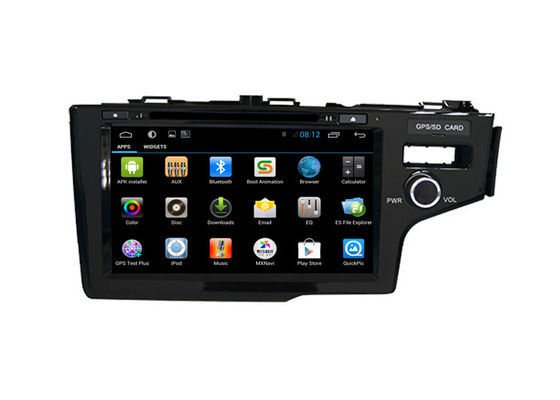 Cina Android Car Radio GPS Multimedia Honda Navigation System Fit 2014 Right DVD Player pemasok
