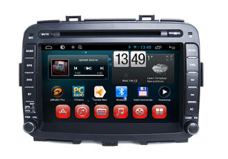 Cina Carens Android Car Stereo KIA Navigation System Capacitive Quad Core pemasok