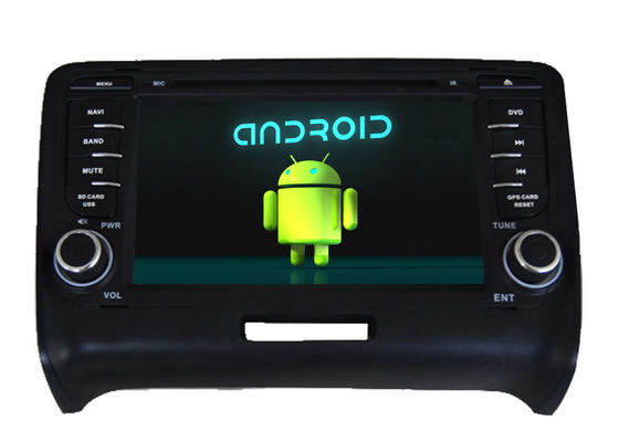 Cina Quad Core Audi Navigation System Central Multimedia With HD Resolution Capacitive Touch Panel pemasok