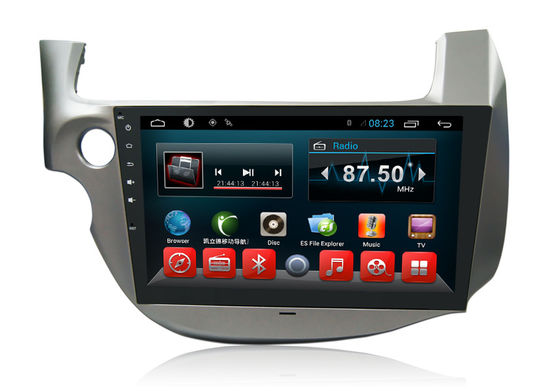 Cina Bluetooth HONDA Navigat Ion System , 2 Din Big Screen Auto Multimedia Player pemasok