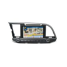 Cina CE Hyundai Dvd Player Hyundai Elantra 2017 GPS Navigation Digital Media Receivers pemasok