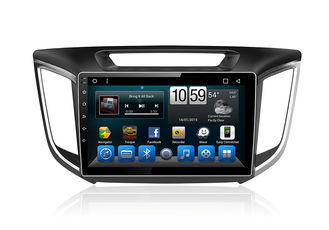 Cina Car GPS Unit Android System Double Din Radio With Navigation Touch Screen Ix25 Creta pemasok