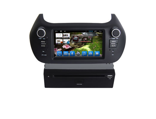 Android Double Din DVD Player Fiat Fiat Sistem Navigasi OBD Bluetooth 3G