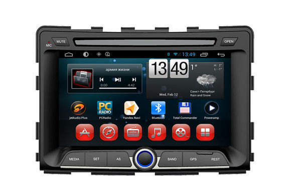 Cina Ssangyong Rodius Android Car GPS Navigation System DVD Player 1080P RDS Touch Panel pemasok