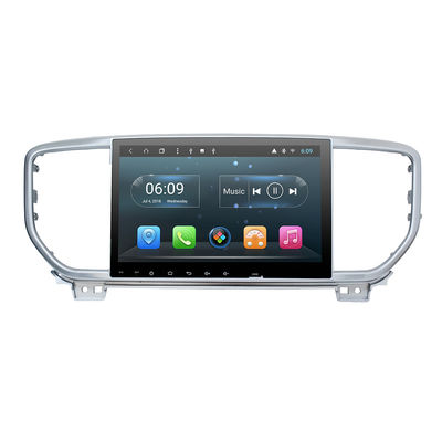 "Carplay Navigasi GPS Bluetooth KIA DVD Player 9 ""Android Auto Radio Untuk KIA Sportage 2019"