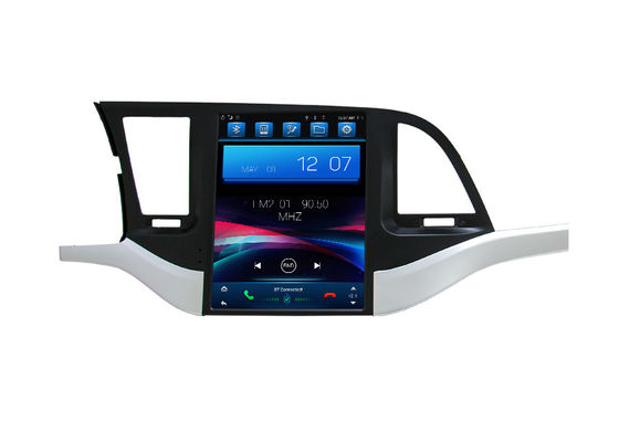 Hyundai Elantra Dvd Player Auto GPS Navigasi Media Head Unit Tahan Lama Dengan 4G SIM Car Play DSP