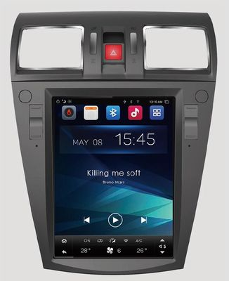 4G SIM Android Head Infotainment Mobil Unit 10.4 '' Subaru Outback 2010-2014 Tesla Touchscreen