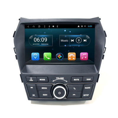 9 Inch HYUNDAI DVD Player IX45 Santa Fe 2013-2017 Android Dengan Bluetooth Car Play 4G SIM