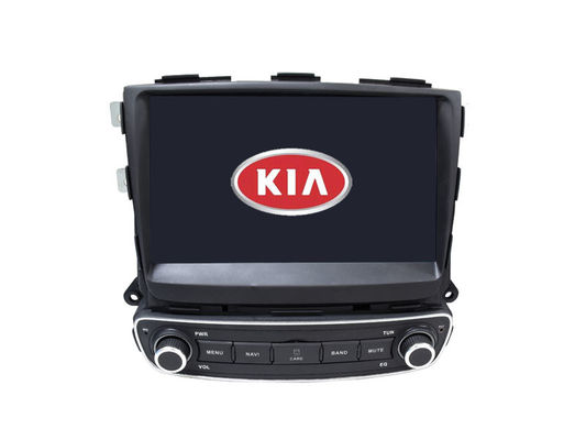Radio GPS Media TV Sistem Navigasi Kia Sorento Dvd Player Layar Sentuh HD 9 Inch