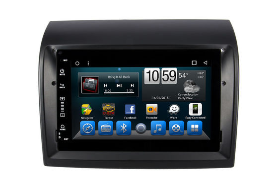 Citroen Jumper Double Din DVD Player Android 9.0 / 10.0 Dalam Sistem Video Audio Mobil