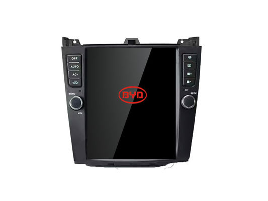 Layar Tesla BYD G6 Radio GPS Navigasi Central Multimidia Recevier Music System
