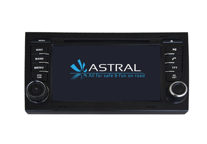 2 Din GPS Navigation Audi A4 Central Multimidia GPS Radio Stereo
